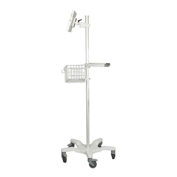 Rolling Medical Stand w/VESA Mount WHITE CCM03916