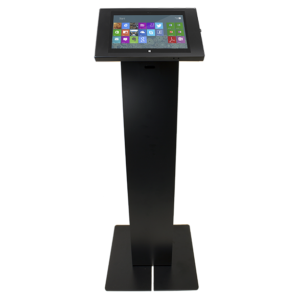 Radius Floor Stand Kiosk + Full Metal Jacket Enclosure for Surface Pro 3 CCM07220