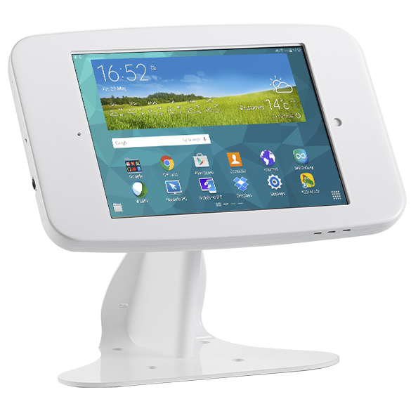 Gravity Flip Pro 2.0 + Full Metal Jacket 3.0 Enclosure – Samsung Tab A Kiosk