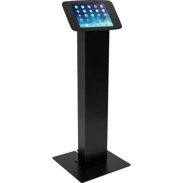 radius floor stand kiosk full metal jacket 30 enclosure ipad air air 2 - Ipad Floor Stand