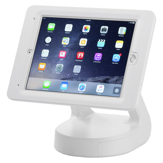 "RapidDoc™ Lite Kiosk with Elite for iPad 9.7"" (2017) in White 700-00102"