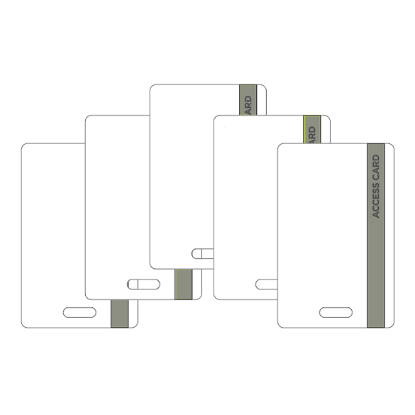 5-Pack Access Card Replacement Kit