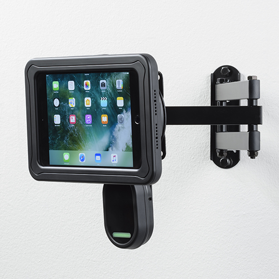 RapidDoc™ Lite VESA Mount with Echo for iPad mini 4 in Black RD Lite VESA5